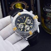 Мужские модные наручные часы роскошные часы кожаные навитим 1884 спортивный дайвинг