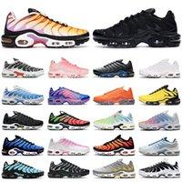 2021 tn air max Plus shoes uomo donna Scarpe da corsa nike Blue Particle Grey Triple Black Atlanta Orange Fuchsia Digital Pink White scarpe da ginnastica da uomo Sneakers outdoor