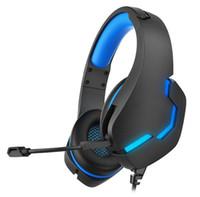 سماعات الألعاب سماعة سماعات ستيريو الكمبيوتر السلكية مع ميكروفون ل PS4 PS5 التبديل Xbox One كمبيوتر محمول اللوحي اللوحي الشحن السريع