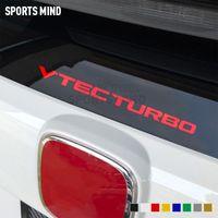 Honda Civic Fit Jazz JDM Typer R 액세서리 자동차 자동차 스타일링을위한 VTEC Turbo Viny Windshield 자동차 스티커 데칼