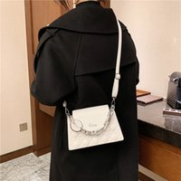 women 2021 fashion handbags new fashion versatile small square bag women's advanced temperament One Shoulder Messenger HR35