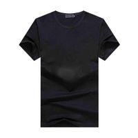 Estate Moda Europa Italia Francia T-shirt di alta qualità T-shirt Hip-Hop Metal T-shirt da uomo e donna Vestiti Casual Cotton Moda T-shirt T-shirt