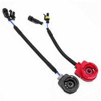 PC för 1 d2r d2c d2 d2s xenon glödlampa AMP Converter Adapter Converter Wire Plug Cable Socket Base Wiring Harness Car Styling