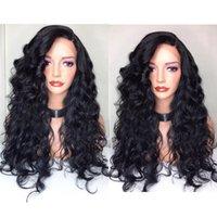 5 * 4,5 '' Seide Top Lace Front Wigfull Spitze Perücke Menschenhaar Unverarbeitete brasilianische Seidenbasis Perücken Schwarze Frauen mit Babyhaar