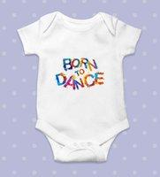 Macacões bebê menina roupa nascida para dançar algodão bodysuit unisex onesie colete presente meninos