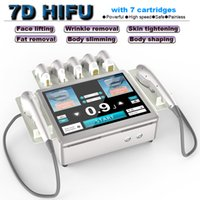 HIFU Machine 7D anti aging Non-Surgical Body Slimming Home Salon Use Lipo Fat Removal Device face lifting skin tightening beauty equipment