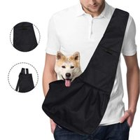 Dog Car Seat Covers Oxford Fabric Pet Transport Bag Cat Puppy Animal Crossbody Warm Front Breast Carrier For Outdoor