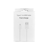 Cell Phone Cables with Retail Box Type C USB Cable for Samsung Fast Charging Cord Date