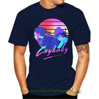 T-shirt da uomo Crybaby Mens Black Tees Shirt Abbigliamento Uomo Donna Cartoon Casual Short O-Neck Broadcloth CN (Origine)