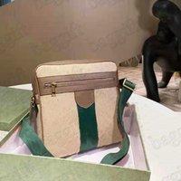 클래식 망 Ophidia 빈티지 캔버스 메시지 가방 웹 스트라이프 크로이 바디 토트 핸드백 Luxurys 디자이너 어깨 가방