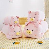 Cartoon plush toy new pink baby pig doll child sleeping pillow girlfriend birthday gift