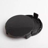 20 قطعة / الوحدة 75 ملليمتر 3pin الأزرق الداكن أسود كامل أسود عجلة مركز محور قبعات hubcap يغطي الحافات كاب ل a1714000025 سيارة التصميم