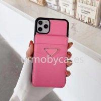 Titulaire de la carte de concepteur Cas de téléphone pour Samsung Galaxy S21ULTRA S10 S20 S20Plus S21 avec motif de mode Multi Card Slot Note10 Note20