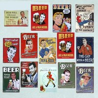 2021 drôle sauvegarde d'eau bière bière vintage panneaux d'étain rétro publicité étain plat maison café bar restaurant club shop affiche mural 30x20cm