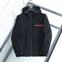 Diseñador de moda para hombre chaqueta goo d primavera otoño outmopa rompevientos cremallera ropa chaquetas chaquetas abrigo afuera puede deporte Euro Tamaño Ropa de hombre