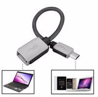USB-C 3.1 Tipo C Maschio a USB 3.0 Adattatore cavo Adattatore OTG USB Data Caricabatterie per Samsung S8 S9