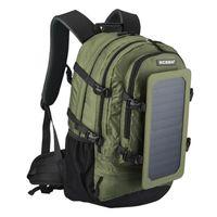 Mochila Viagem Caminhada 6.5W 6V Painel Solar Multockets Multockets Laptop Bag Unisex Sacos de Ombro Business Sport Sport