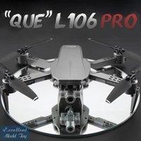 L106 PRO 4K Dual-Kamera 5G-WiFi 50x Zoom-Drohne, Simulatoren, 2-Achsen-Gimbal-Anti-Shake, GPS-optische Fließpositionierung, Smart Folgen, Niedrigleistungsrückkehr, verwenden Sie