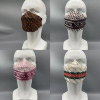 4style смешанный цвет четыре слоя одноразовые маски дизайнерские брендовые буквы печати взрослых мужчин женщины 95% эффективность фильтрации пылезащитный профилактика масок гриппа