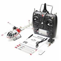 RCTOWN XK K123 6CH فرش AS350 مقياس نظام 3D6 جرام غير Aileron RC هليكوبتر RTF لعب للأطفال ترقية Wltoys V931 (متوفر)