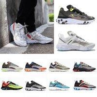 Nike air react element 87 55 Undercover 87 55الرياضية حذاء رياضة عداء