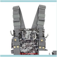 Waist Support Safety Athletic Outdoor As Sports & Outdoors Walkie-Talkie Camouflage Double Package Product Ip Chest Backpack Kettle Bag1 Dro