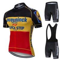 2021 Pro Takım Hızlı Adım Bisiklet Jersey 19D Bib Set Bisiklet Giyim Ropa Ciclism Bisiklet Giyim Giyim Erkek Kısa Maillot Culotte
