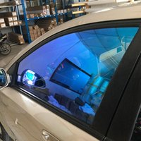 HOHOFILM Multi-size Roll 81%VLT Chameleon Window Tint Car house Window Film Auto Glass Sticker 99% UV Proof Solar Tint