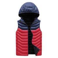 Gilets pour hommes kksky polaire à capuche blouse manteau manches manches parkas hommes homme hiver homme surdimensionné homme vêtements