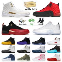 Men Women Jumpman 12 12s Mens Basketball Jorden Shoes Bowl Sports Sneakers XII Utility Grind Twist Flu Game Dark Concord Retro Low Easter OVO Gym Trainers Air Jordon