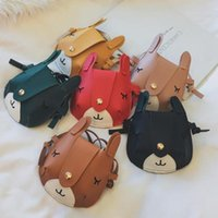 Purse Girls Small Coin Lovely Cat Mini Leather Bags For Baby Messenger Princess Kids Storage Handbag Children Wallets