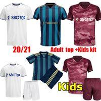 Nouvelle chemise pour adultes LEEDS SOCCER JERSEY KITS KITS 20 21 T Roberts Harrison Hernandez Costa Bamford Alioski Clarke 2020 2021 Shirt de football
