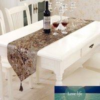 結婚式の装飾の家のための古典的な西部のテーブルのランナーの高品質の群れの凝集融合シミュレーションの布タッセルテーブルの装飾