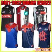 2021 2022 Freemantle Dockers Джерси Гиганты Солнца 22 22 Мельбурн Св. Kodak Collingwood Привет Регби Джетки AFL Рубашка-лига Жилет