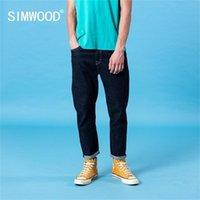 Simwood Spring Summer New classical Jeans Uomo Basic Comodo Denim Pantaloni Plus Size Brand Abbigliamento LJ201023