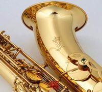 JK KEILWERTH ST110 Новое Прибытие Alto Saxophone Высокое Качество Латунный Золотой Лак Бесплатная Доставка EB Настройка Музыкальных инструментов со мундштуком