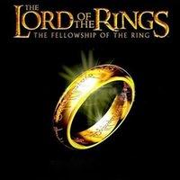 Europäischer und amerikanischer Titanstahl Ultimate Lord of the Ringe Edelstahl Ring Großes Film Gleiche Modell Außenhandel Schmuck Ring M