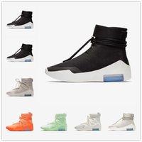 [Con caja] Nike Air Fear of God 1 FOG joint name shoes Frosted OG Spruce FOG FEORE X 1 SA 180 RAID BOTAS CASAS DE LUZ DE LUZ DE COMPLETADORES ZAPA DE ZAPATOS AMARILLO ZAPATOS CASOS