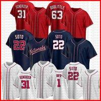Хуан 22 Сото Райан 11 Zimmerman Бейсбол для бейсбола Max 31 Scherzer Trea 7 Turner Anthony 6 Rendon Bryce Wilmer 1 Difo 34 Harper Adam 2 Eaton Jersey