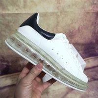 TOP QUALIITY MEN, женщин мода натуральная кожаная воздушная подушка обувь популярное начало плоские чаусуры де спорта Zapatillas замшевые повседневные туфли