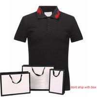الكلاسيكية الرجال قميص بولو النمر الأفعى الكرتون نمط الرجال الصيف عارضة قمم الأزياء قصيرة الأكمام رجل تيز بولو