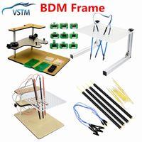 Diagnostische gereedschappen 2021 Hoge kwaliteit LED BDM Frame Testen voor BDM100 FGTECH CHIP-tunning met adapter Master CMD ECU-programmering 100