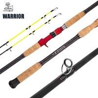Make Warrior Медленная качалка железа Plane Polle 1.8 / 2.1 / 2.4 / 2.7 / 3.0M Вес приманка 30-200 г Спиннинг / литейная лодка стержень океанский рыболовный стержень