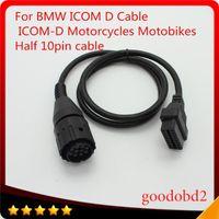 Diagnostic Tools For ICOM D Cable ICOM-D Motorcycles Motobikes 10 Pin Adaptor 10Pin To 16Pin OBD2 OBDII I-COM A2 Tool Cables