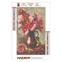 875A Flower Vase DIY 5D Full Drill Diamond Painting Embroidery Cross Stitch Kit Decor