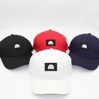أزياء الشارع القبعات قبعة البيسبول كاب الكرة قبعات للرجل امرأة قابل للتعديل قبعة بيني قبة عالية الجودة 4 ألوان