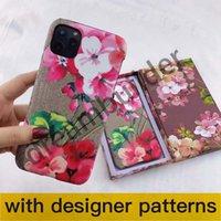 G Coques de téléphone des concepteurs pour iPhone 12 Pro Max 11 Pro Max 7 8 plus XR XS Max Couvre-Cover PU en cuir PU Samsung Shell pour S10 S9 S8P Note 8 9 10P