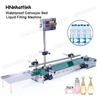 1200mm Automatic Waterproof Conveyor Belt Liquid Filling Machine Fiber Optic Sensor Small Digital Control For Production