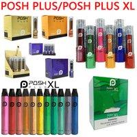 Posh Plus and Posh Plus XL Disposable Vape Pen E Cigarette Kit 280mAh 650mAh 2ml 5ml Pod 500 1500 Puffs Prefilled Vapors Device VS Air Bar Lux Puff Flex