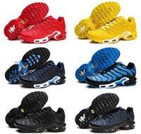 Nouveaux arrivants 2020 Plus TN Taille US 13 MC Coc Fly Knit Homme Mens Femmes 2019 Run Utility Chaussures de course Sports Sneakers Formateurs bas prix